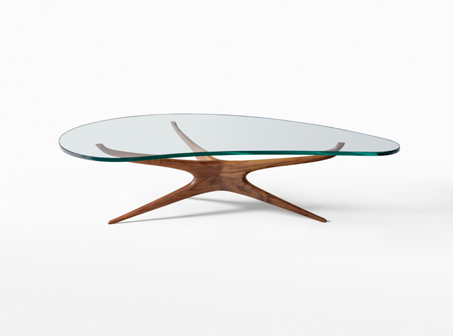 Vladimir Kagan Tables Sculptured Coffee Table